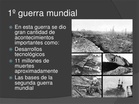 Resumen 1 Guerra Mundial by Informaci 243 N Sobre La Primera Guerra Mundial 1914 1918