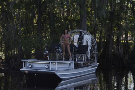 versatrack boat lights american airboats bowfishing boat southern airboat