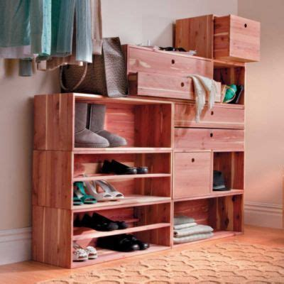 cedar fresh stackable closet storage system storage