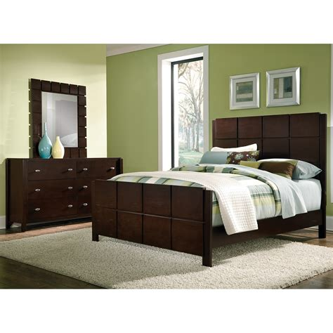 bedrooms furniture sets mosaic 5 piece king bedroom set dark brown american