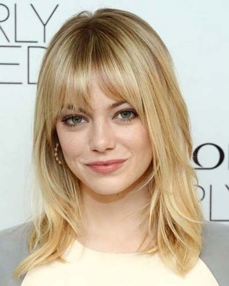 haircuts with bangs and layers medium layered haircuts with bangs 2014