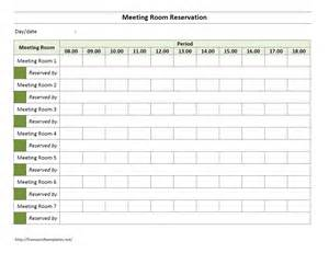Meeting Room Template template for conference room schedule calendar template 2016