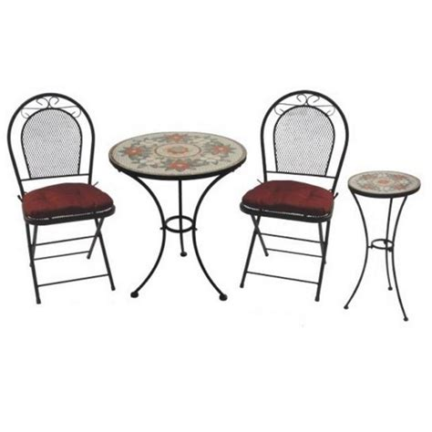 Metal Bistro Table And Chairs Wrought Iron 3 Bistro Table And Chairs Sets