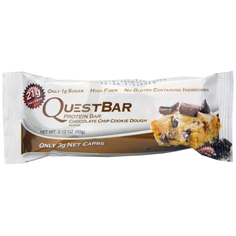 9 protein bars quest nutrition questbar protein bar chocolate chip
