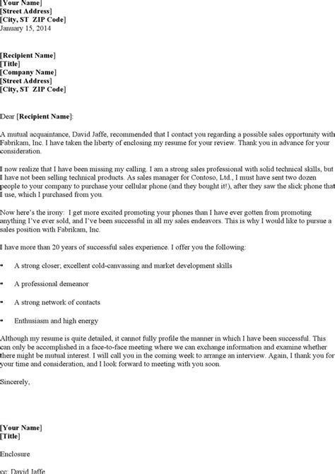 cover letter template sales cover letter exles for sales free premium