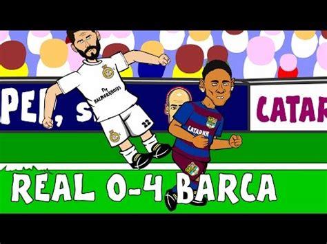 real madrid vs barcelona highlights 0 4 goals video 0 4 trump