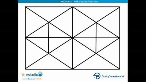 figuras geometricas de 4 lados 193 rea de figuras compuestas youtube
