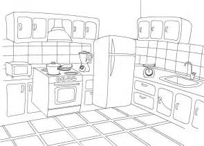 Images For Kitchen Furniture coloring pages kitchen only coloring pages