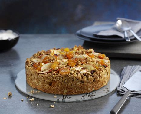 Cooking For A Crowd apricot and apple granola crumble cake cake recipes