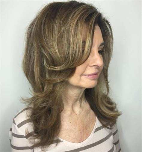 Layered Medium Hairstyles For 60 by 60 Most Prominent Hairstyles For 40