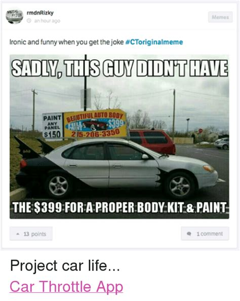 Project Car Memes - jokes memes on sizzle funny jokes and ass