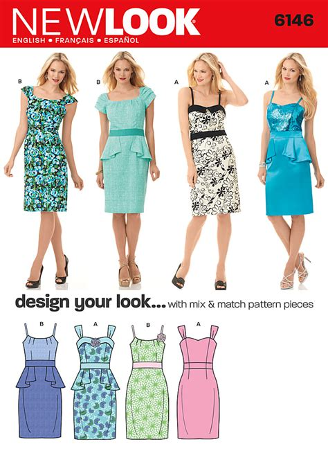 pattern review best of 2012 new look 6146 misses dress