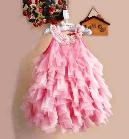 Zoe Pink Square Dress Anak baju anak lucu