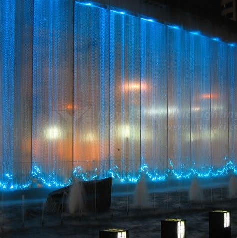 fiber optic curtains fiber optic waterfall curtain