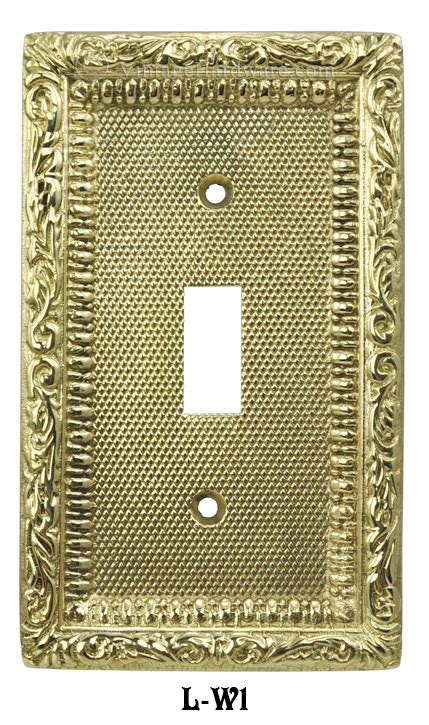 victorian light switch covers vintage hardware lighting