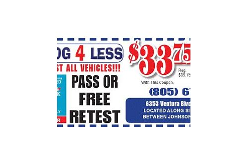 smog test coupons ventura ca