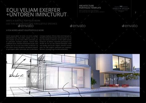 Architecture Portfolio Template By Keboto Graphicriver Architecture Portfolio Template