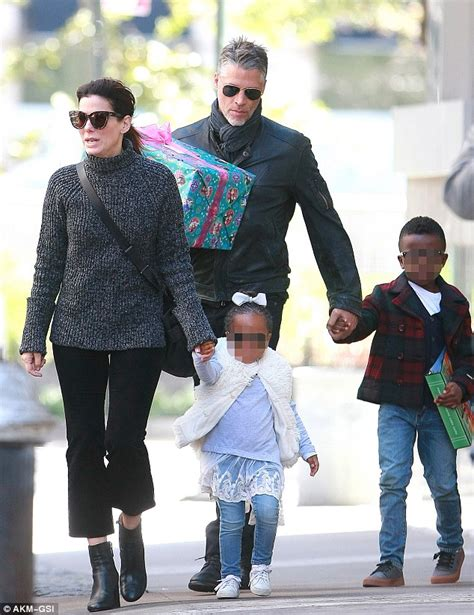 Sandra Bullock Children | sandra bullock and beau bryan randall take her kids to a