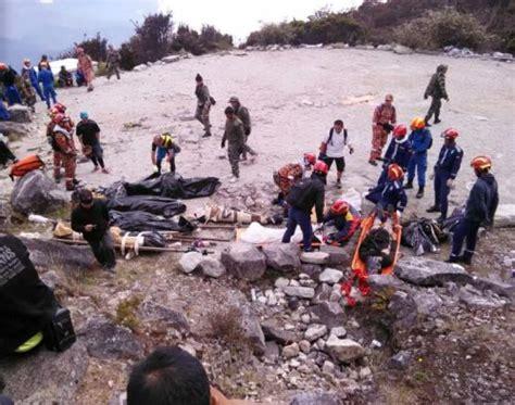 Gempa Bumi gempa bumi di sabah jumlah keseluruhan kematian 19 orang