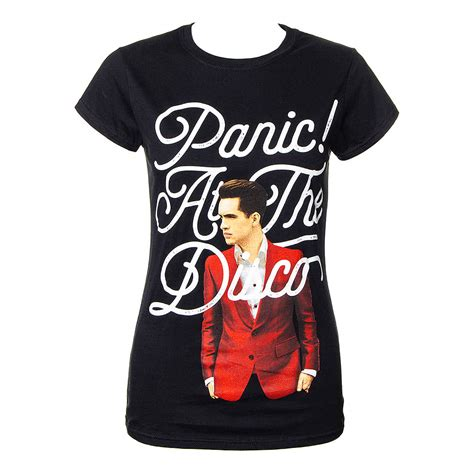 panic at the disco brendon urie t shirt patd band