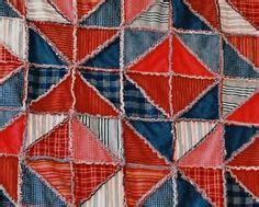 zig zag rag quilt pattern textile art on pinterest textiles embroidery and paper