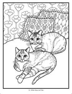 cat coloring book mimi vang cats coloring book