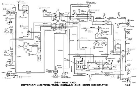 1969 mustang ignition wiring diagram circuit and