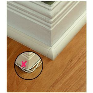 hide extension cord along baseboard best 25 hide cable cords ideas on