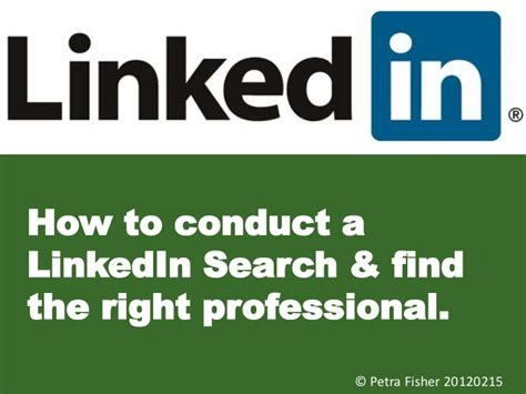 How To Search For On Linked In How To Search On Linkedin