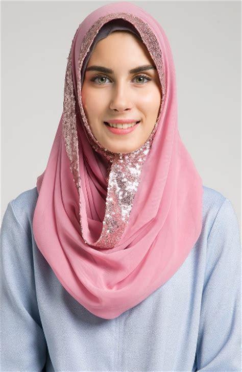 Model Jilbab Baru contoh koleksi model modern masa kini