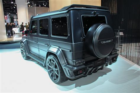 mansory mercedes g63 mansory turns a mercedes g63 amg into the gronos g63