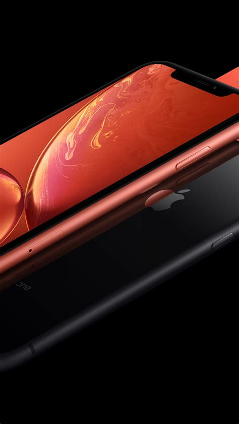 wallpaper iphone xr coral black 5k smartphone apple september 2018 event hi tech 20349
