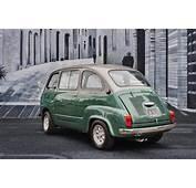 Custom Fiat 600 Multipla Microvan Has No Equal  Autoevolution