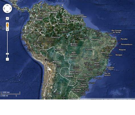 imagenes satelitales brasil mapas do brasil para colorir com estados e mais