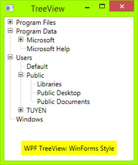 wpf treeviewitem template how to make wpf treeview style as winforms treeview