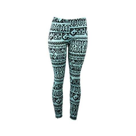 pattern for native american leggings blue native american plaid tribal pattern spandex leggings