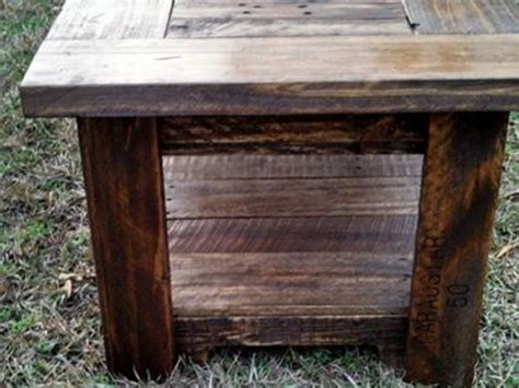 pallets made coffee table pallet ideas recycled