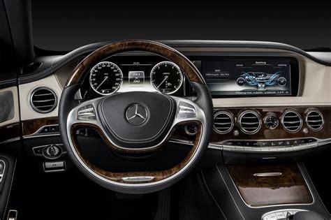 New G Ci the new mercedes s class interior design visual