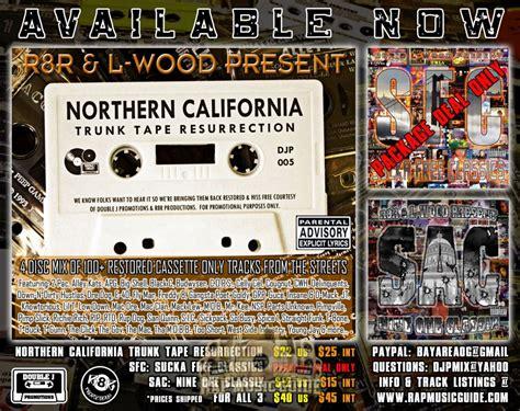 r8r l wood present northern california trunk tape