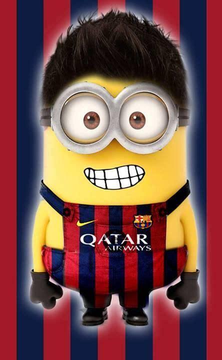 wallpaper minion barcelona messi minion soccer minions pinterest messi lionel