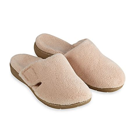 bed bath and beyond slippers orthaheel 174 gemma women s tan slippers bed bath beyond