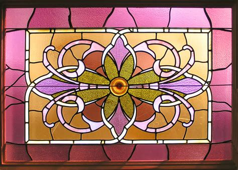 stained glass interior stock photo freeimagescom