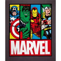 marvel comics avengers flannel faces multi discount designer fabric fabric