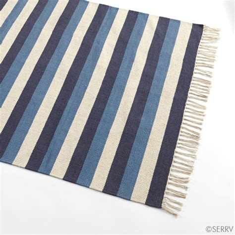 cotton striped rug nautical cotton striped rug