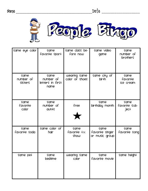 Bingo Search Bingo Board Template For Students Search Results
