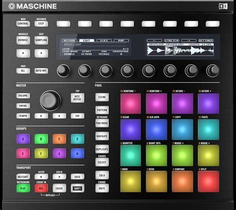Tutorial Native Instruments Maschine | native instruments maschine mk2 black with free headphones