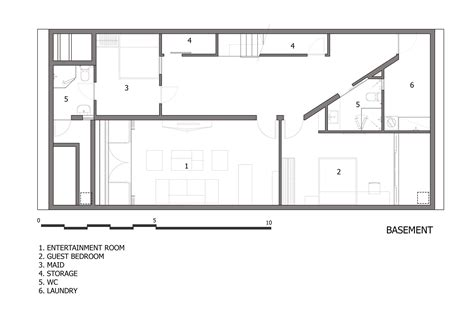 wall homes floor plans gallery of folding wall house nha dan architect 24