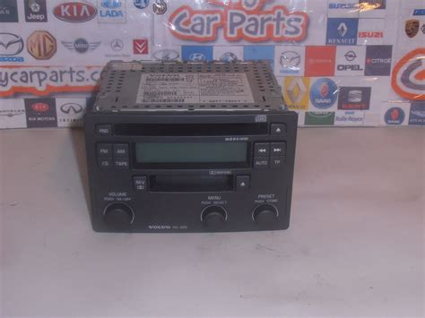 volvo s40 radio code volvo s40 v40 96 04 cd player radio unit hu 655