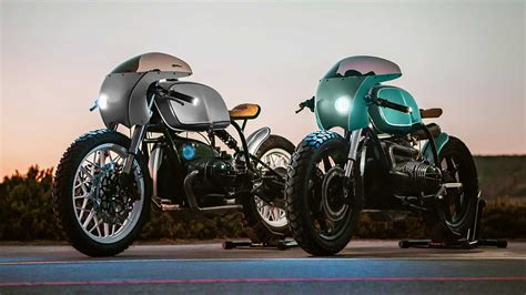enter  win  amazing pair  bmw  cafe racers