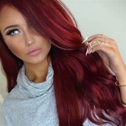 Deep Red Color 50 spicy red hair color ideas hair motive hair motive